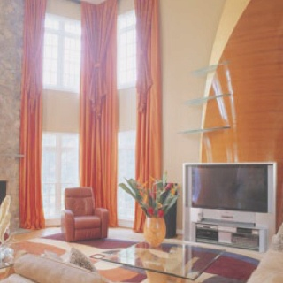 20 best curtains images on pinterest Great room curtain ideas