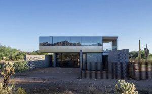 A Cuboid Home Reflecting The Desert – iGNANT.de
