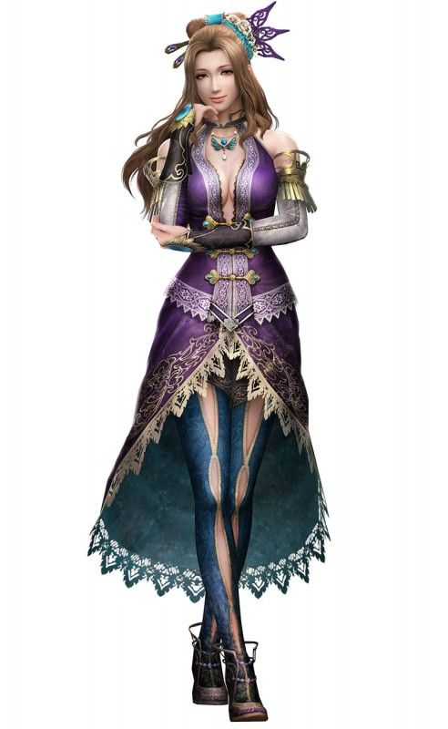 Dynasty Warriors 8 Zhang Chunhua