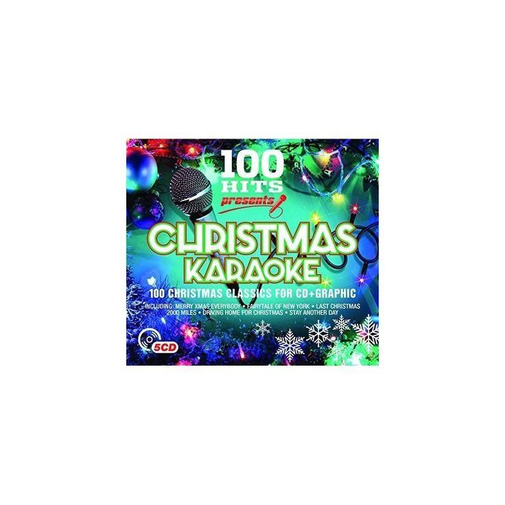 100 Hits: Presents Christmas Karaoke & Various - 100 Hits: Presents Christmas Karaoke / Various (CD)
