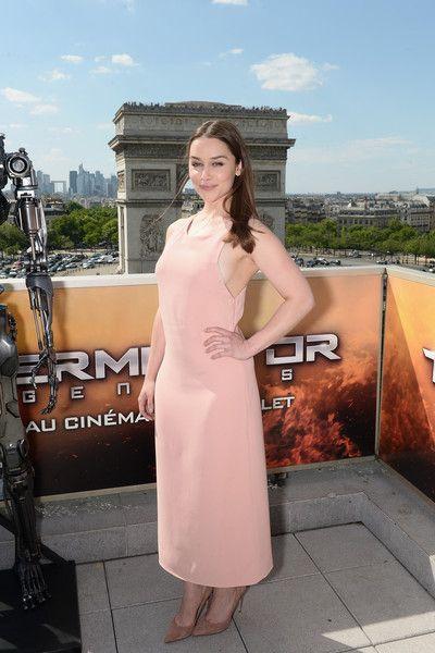 Emilia Clarke Day Dress