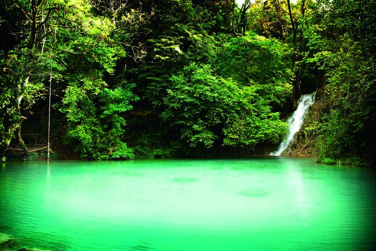 Skra emerald lake - Kilkis Regional Unit - Greece