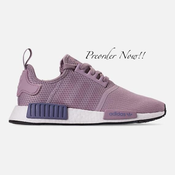 Swarovski Women's Adidas Originals NMD R1 Purple Sneakers