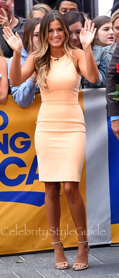 Jojo Fletcher Was A Tangerine Dream At Good Morning America