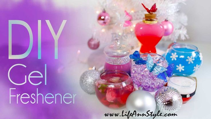 LifeAnnStyle DIY Gel Air Freshener {Great Holiday Gift Idea} |