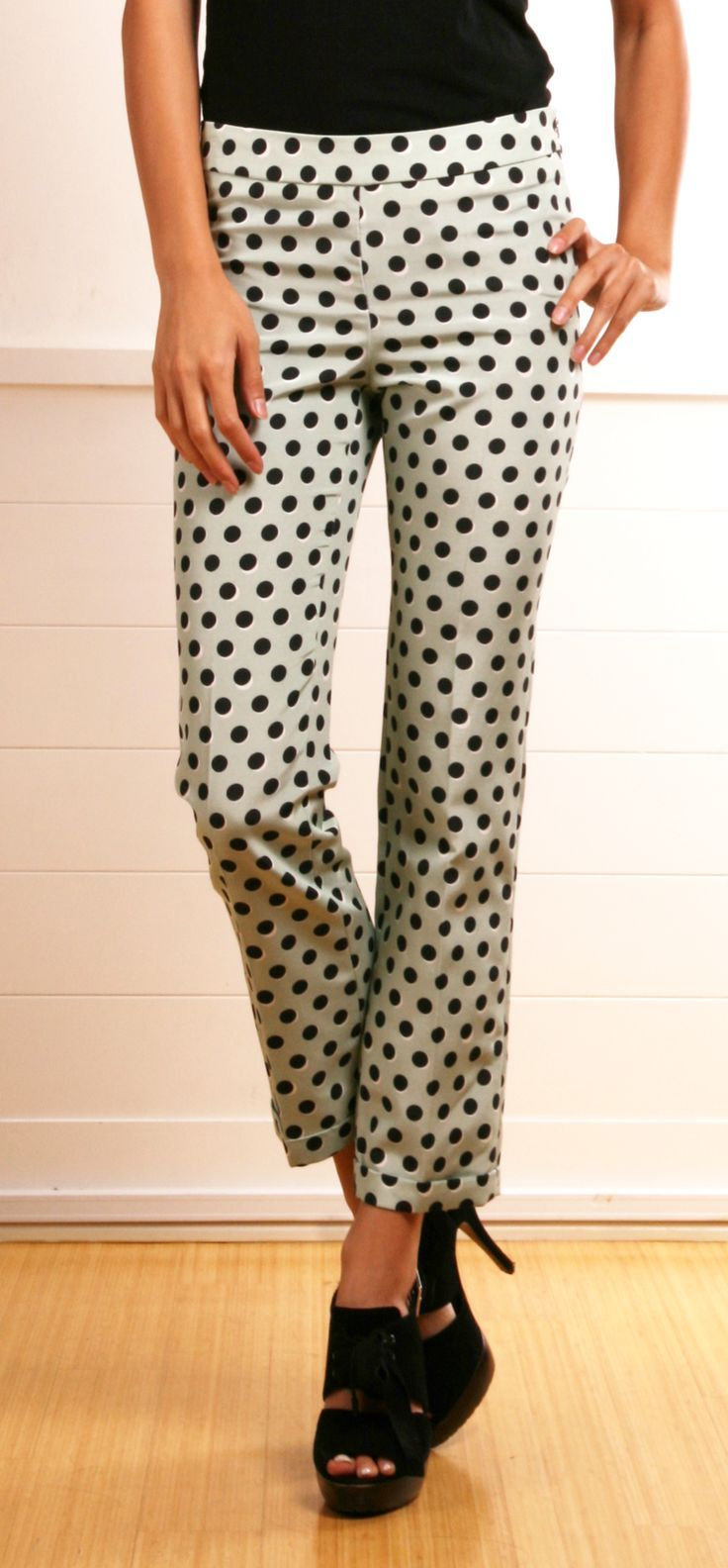 Looking for ankle length pants for spring - polka dots or geo patterns