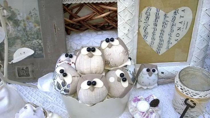 Owl -gufi alla lavanda <3 Lore Cucito Creativo
