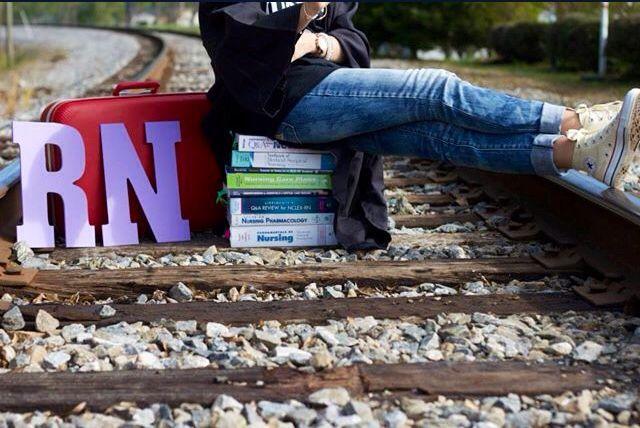 Nursing school grad picture