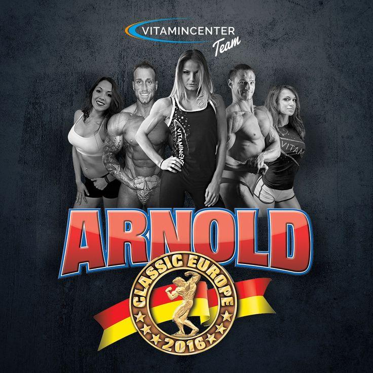 #teamVitaminCenter - Road to Arnold Classic Europe - Barcellona! In bocca al lupo a tutti i nostri atleti in gara domani! => www.vitamincenter.it  #ace2016 #arnoldclassic