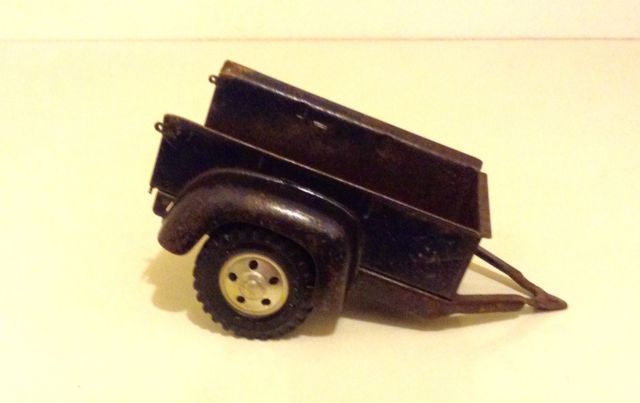 Tonka Toys Ford Pick-Up Truck Utility Box Trailer Original Pressed Steel Blue | eBay