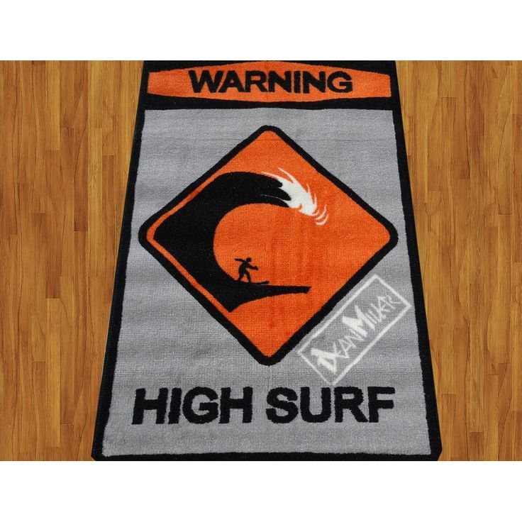 Dean Miller High Surf Children Rug Base Color Kids Rug Children's Machine-washable Non-slip Area Rug