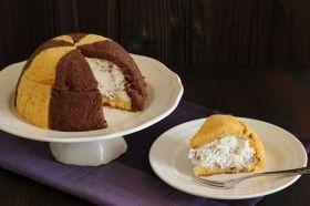 「【ハロウィン】バターナッツ南瓜のズコット」petitcuisine   お菓子・パンのレシピや作り方【corecle*コレクル】