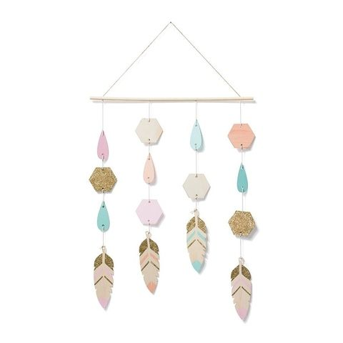 Decorative Hanging Mobile - Feather | Kmart