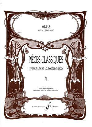 Pièces classique pour Alto