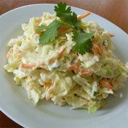 """Cilantro-Lime Coleslaw 