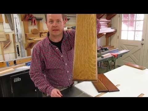How to Finish Quarter Sawn White Oak and Pop The Figure