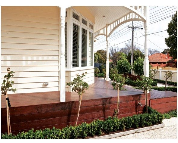 Cabot 39 s oil based deck exterior stain merbau on merbau for Garden decking varnish