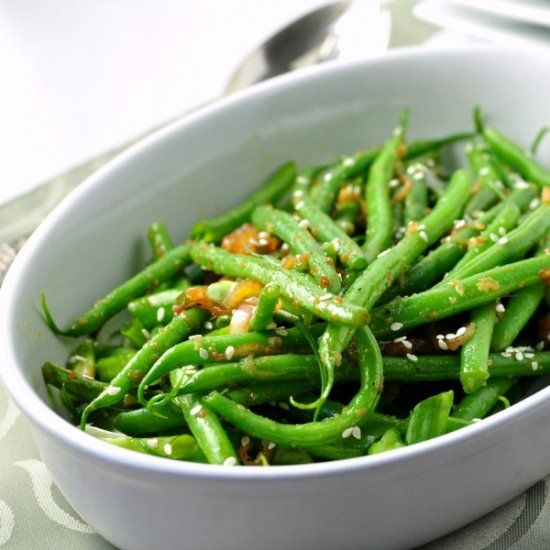 ... green beans sesame mania ct spicy popular recipes forward these sesame