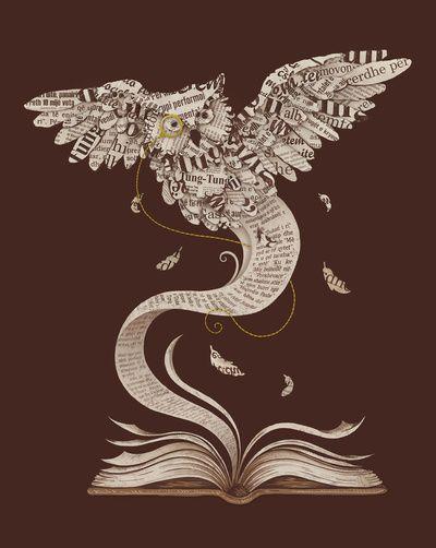.Tattoo Ideas, Book Worms, Single Dika, Book Art, The Artists, Owls Art, A Tattoo, Design, Cool Tattoo