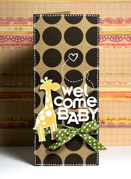 Welcome baby giraffe