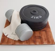 gym cakes - Google Search