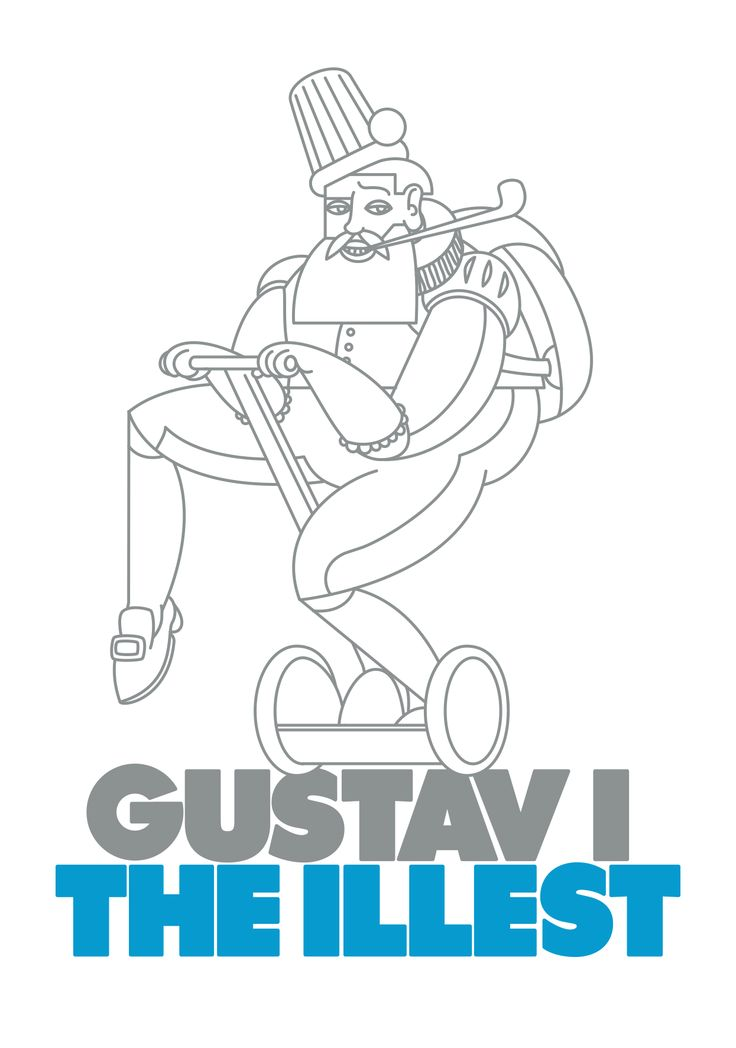 To celebrate our city, here's my personal ode to Gustav 1, the founder of Helsinki.