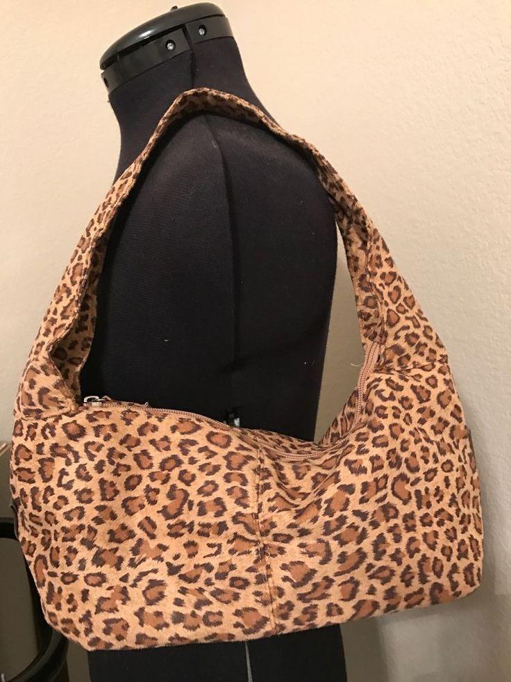 Neiman Marcus Small Leopard Shoulder bag Purse EUC #NeimanMarcus #ShoulderBag