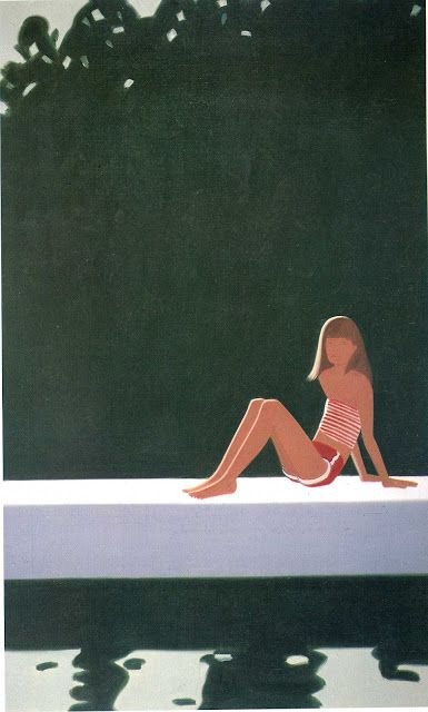 "Alex Katz: ""Tracy on the Raft-at 7-30"""