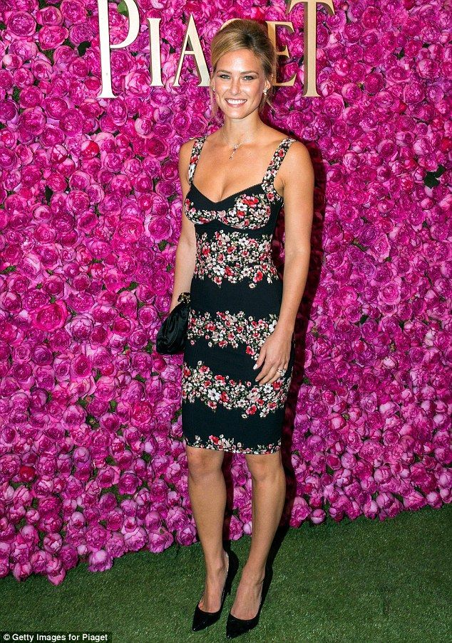 The object of Eyal's affections: Bar Refaeli, pictured here in June at the…