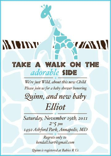 25 best images about baby shower invitations on pinterest   jungle, Baby shower invitations