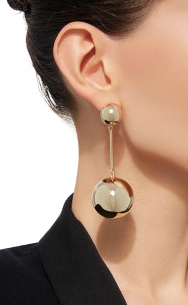 J.W. Anderson sphere drop earing