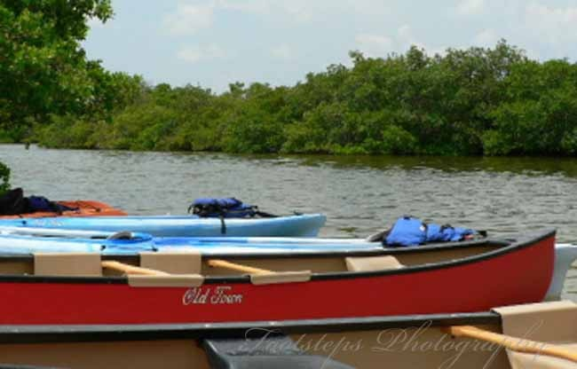 Fort De Soto Park, Florida; USA (kayaking) (3/01)