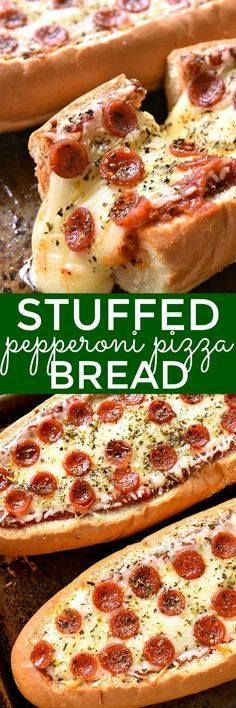 This Stuffed Peppero This Stuffed Pepperoni Pizza Bread is the... This Stuffed Peppero This Stuffed Pepperoni Pizza Bread is the ULTIMATE easy comfort food! Perfect for weeknight dinners game days sleepovers or partiesand it doubles as an appetizer! Recipe : http://ift.tt/1hGiZgA And @ItsNutella http://ift.tt/2v8iUYW