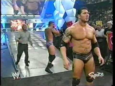 The Rock Returns To WWE Raw - 03-01-04