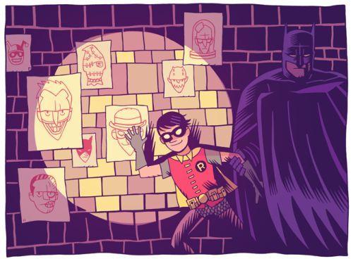 Batman & Robin - Dan Hipp