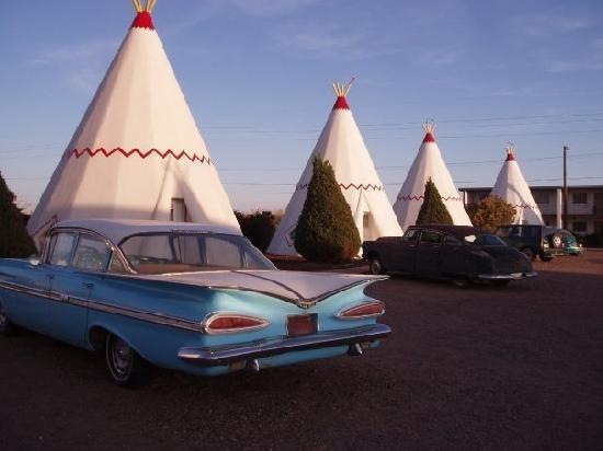 Wigwam Motel Route 66 Tees Fontana Ca