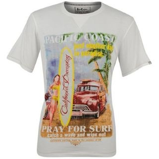 PHOTO PRINT T SHIRT BIANCO