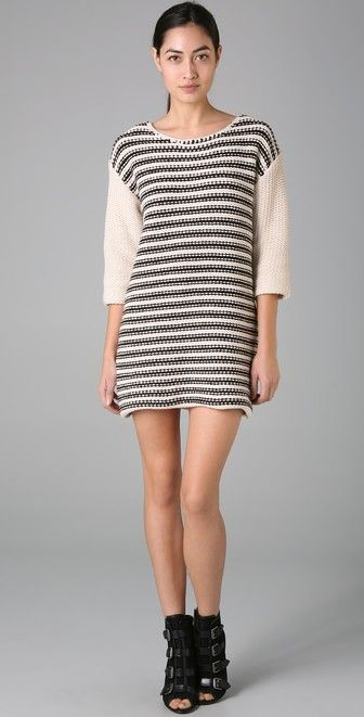 By Malene Birger Kellin Striped Knit Tunic