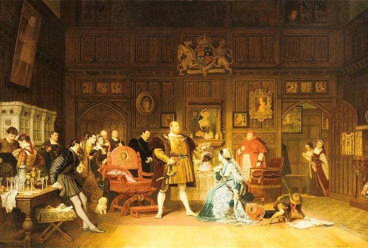 cameliapr: La boda secreta de Enrique VIII y Ana Bolena