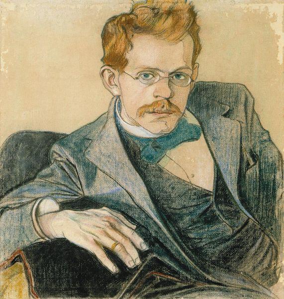 Portret Mehoffera - Stanisław Wyspiański