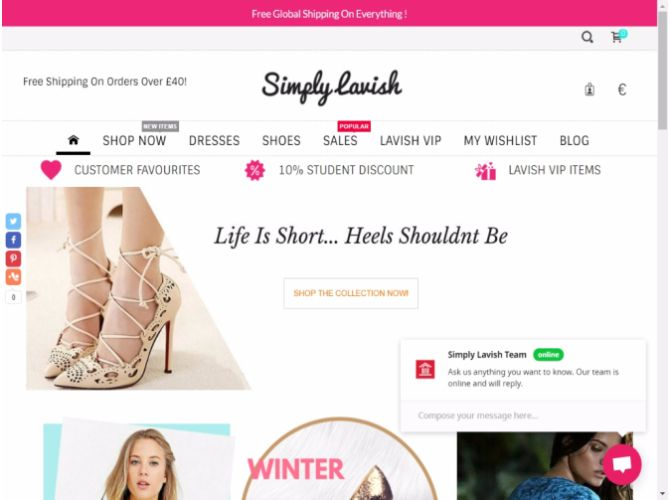 Official Site. Shop online at Simply Lavish for clothing, shoes, accessories, branded fashion and much more. Enjoy the latest fashion along with regular offers.