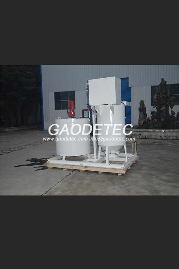 GMA500-1000E cement mixer&agitator is a combination of mixer and agitator. It is specially design for continuous cement mixing and grouting in ground/underground engineering.