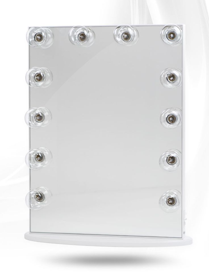 Lighted Vanity Mirror Impressions : Hollywood Glow XL Vanity Mirror Vanity mirrors, Lighted vanity mirror and Hollywood
