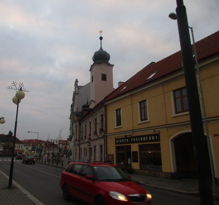Ulice v Poděbradech - Středočeský kraj