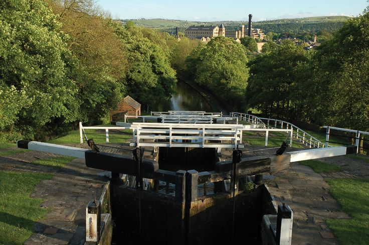 Five Rise Locks, BIngley, from above, by Tony Caunt LRPS (March 2013 cover)