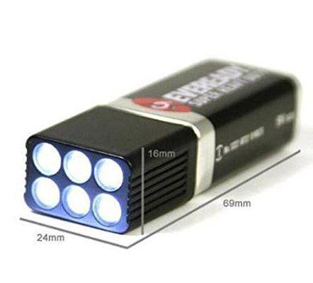 Blocklite 9 Volt LED Flashlight- Ultra Bright (3-Pack)