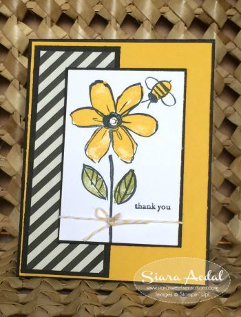 Stampin up Garden In Bloom