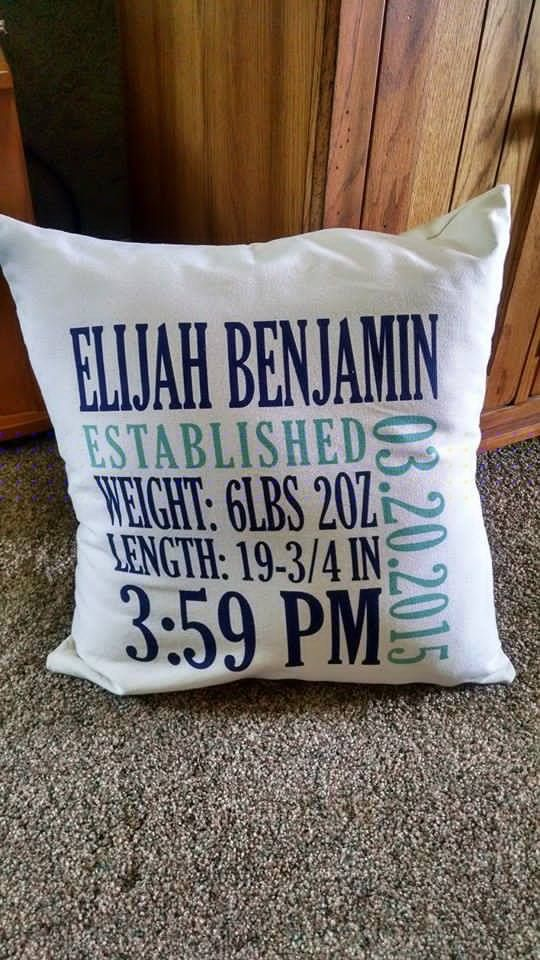 Personalized Canvas Pillow Prints By Thirty One Gifts
