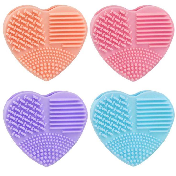 Maquiagem 2016 New Silicone Trứng Thời Trang Làm Sạch Găng Tay Trang Điểm Rửa Bàn Chải Scrubber Tool Chất Tẩy Rửa 25 Dropship