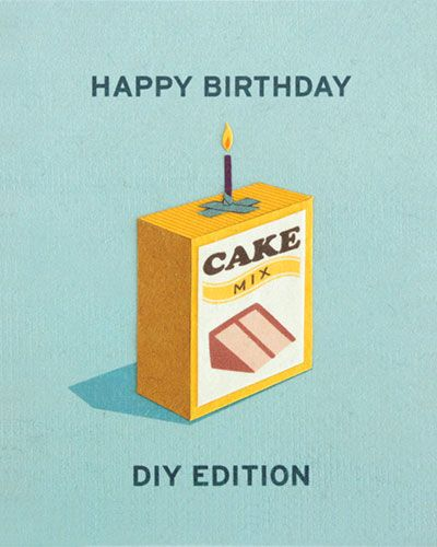 Clever #DIY Birthday Card